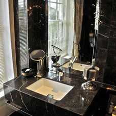 Contemporary Bathroom Vanities And Sink Consoles by Ogle, luxury kitchens, Bathrooms & Stonework