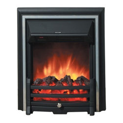 Yosemite Home Decor - Apollo - Yosemite Home Decor - Apollo new line of Electric Fireplaces will look absolutely perfect in a contemporary home or interior.  It is made up of a plastic material that is easy to carry around in a desired location in your house.  Yosemite Home Decor Apollo is a floor standing unit and can easily be set against a wall.