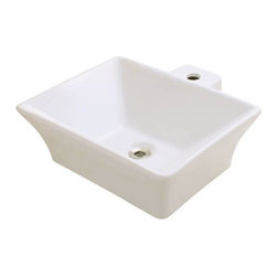 PolarisSinks - Polaris P092VB Bisque Porcelain Vessel Sink - Our extensive line of porcelain sinks will compliment any decor from the traditional to the unique. Our porcelain sinks are true vitreous China with a triple laid glaze to create the strongest sink you will find. Our porcelain sinks are extremely low maintenance. Our porcelain sinks are covered by a limited lifetime warranty. Each comes with a cardboard cutout template and mounting hardware.