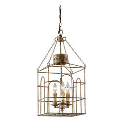 Troy Lighting - Troy Lighting F3503 Jasper 3 Light Candle-Style Foyer Pendant - Features: