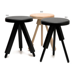 Milk Stool S01 - Natural