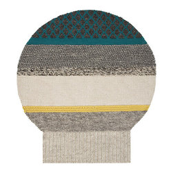 Gandia Blasco - Patricia Urquiola - MG1 Globo Wool Rug - Gandia Blasco - All of the modern rugs by Gandia Blasco are Goodweave certified and the perfect addition to any room in your home. Yarn composition: 100% New Wool. Hand loomed. Designed by Patricia Urquiola.