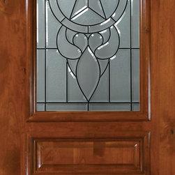 """Pre-hung Single Door 96 Wood Alder Brazos 3 Panel Arch Lite Glass - SKU#E19705-DE8AB1BrandGlassCraftDoor TypeExteriorManufacturer CollectionArch Lite Entry DoorsDoor ModelBrazosDoor MaterialWoodWoodgrainKnotty AlderVeneerPrice2580Door Size Options36"""" x 96"""" (3'-0"""" x 8'-0"""")  $0Core TypeDoor StyleSquare TopDoor Lite StyleArch LiteDoor Panel Style3 PanelHome Style MatchingDoor ConstructionEstanciaPrehanging OptionsPrehungPrehung ConfigurationSingle DoorDoor Thickness (Inches)1.75Glass Thickness (Inches)Glass TypeTriple GlazedGlass CamingBlackGlass FeaturesTempered , BeveledGlass StyleGlass TextureGlass ObscurityDoor FeaturesDoor ApprovalsWind-load Rated , SFI , TCEQ , AMD , NFRC-IG , IRC , NFRC-Safety GlassDoor FinishesDoor AccessoriesWeight (lbs)369Crating Size25"""" (w)x 108"""" (l)x 52"""" (h)Lead TimeSlab Doors: 7 Business DaysPrehung:14 Business DaysPrefinished, PreHung:21 Business DaysWarrantyOne (1) year limited warranty for all unfinished wood doorsOne (1) year limited warranty for all factory?finished wood doors"""