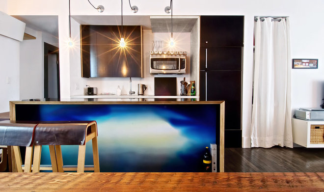 Industrial Kitchen by Andrew Snow Photography