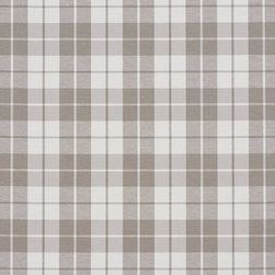 Taupe And White Plaid Cotton Heavy Duty Upholstery Fabric By The Yard - Solid cotton canvas upholstery fabric are great for upholstery, bedding, window treatments and all other fabric related projects. This material is preshrunk 12 ounce cotton, and finished with Teflon for enhanced stain resistance. Solids are excellent for correlating with. Of course, they will look good alone too!