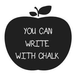 Big Apple Chalkboard - Leave a little love note or the night's menu on this chalkboard decal.