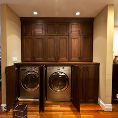 traditional laundry room by APlus Interior Design &amp; Remodeling