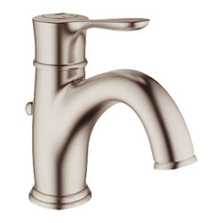 Grohe - Grohe 23305-EN0 Parkfield Series Single-Lever Bath Faucet - The Parkfield Series Single-Lever Bath Faucet (23305) Features Grohe'S Watercare Technology, Giving It A 1.5 Gpm Flow Rate, And Its Single-Hole Installation Allows You To Mount It In A Matter Of Minutes. Its Metal Lever Handle Allows For Precise Volume And Temperature Control, And It Comes With Grohe'S Silkmove Ceramic Cartridge For Long-Lasting Drip-Free Performance. It Also Features A Beautiful, Brushed Nickel Finish, Solid Brass Construction, A pop-up Waste Set, And Flexible Hose Connections.