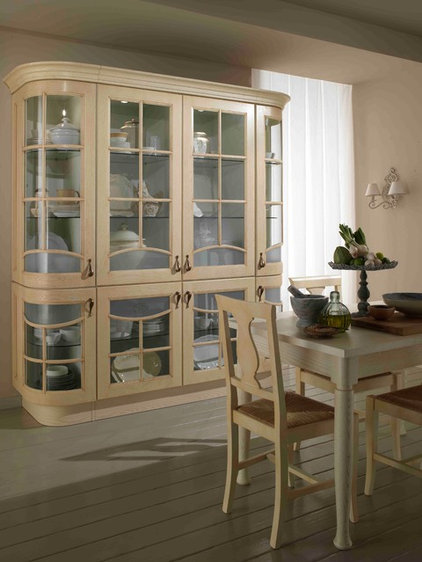 Traditional Kitchen Cabinetry by Italian Kitchen and Bath