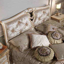 Louis XVI Bedroom Furniture - View our colletion of throw pillows and throws.