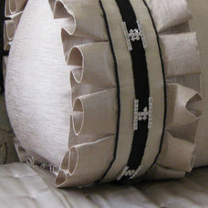 Traditional Decorative Pillows by Fabrika Drapery Workroom