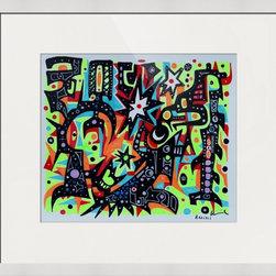 Kourosh Amini - Original Art Works By Kourosh Amini, Kapow! - Artist: Kourosh Amini
