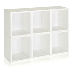 Modular Storage Cubes Plus, White