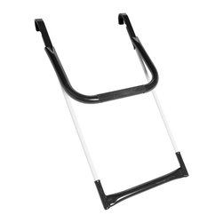 Springfree Trampoline - Springfree Trampoline FlexrStep Trampoline Ladder - Allows for easier entry onto the Springfree Trampoline without introducing a hard surface near the jumping area. Comes with a lock to restrict unsupervised jumping.