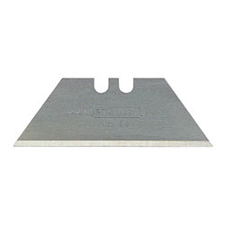 Stanley - Stanley Regular Duty Utility Blades - Cut through the toughest crafting materials with these sharp utility blades. These refills will fit into any utility knife that accepts trapezoidal blades. The triangular points allow you to control the cut for precise trimming in tight spaces.