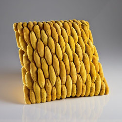Cobblestone Pillow Yellow -
