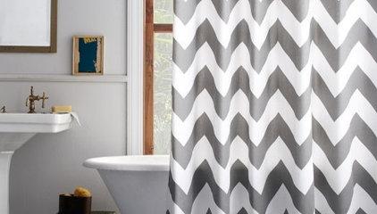Zigzag Shower Curtain | west elm