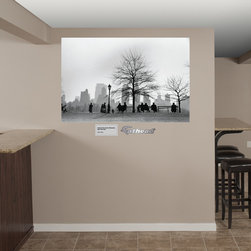 Fathead - Fathead Vinyl Wall Graphic - Central Park South Silhouette, New York City by Ruth Orkin - Large Format