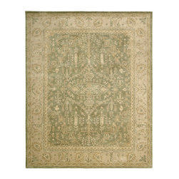 Nourison - NOUR-11646 Nourison Jaipur Area Rug Collection - Bring a dramatic element of timeless beauty and elegance with this marvelous collection of luxurious traditional Persian-design rugs. Made with a lavish pile and treated with Nourison's unique special herbal wash process to simulate the look and textural dimension of a priceless antique. An intriguing articulation of fine weaving and exquisite attention to detail make this a collection of profound sophistication.
