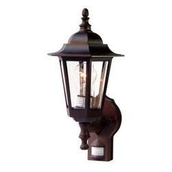 Acclaim Lighting - Outdoor Lighting. Tidewater Collection Wall-Mount 1-Light Outdoor Architectural - Shop for Lighting & Fans at The Home Depot. The Tidewater collection 1-light wall lantern is made of a non-metallic copolymer polyester material. This material will not rust or corrode and resists the harmful effects of UV rays. The acrylic glass is beveled and impact resistant.