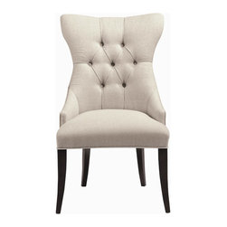 Bernhardt - Deco Tufted Back Chair - W 25-1/4 | D 27-3/8 | H 41-1/2 in.
