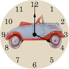 Modern Wall Clocks by Rosenberry Rooms