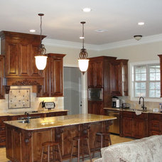 Traditional Kitchen by Manuel Builders, LLC