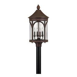 Hinkley Lighting - Copper Bronze 1 Light LED Post Light from the Lucerne Collection - Hinkley Lighting 2311CB-LED Lucerne LED Outdoor Post Mount Light This LED outdoor post light from Hinkley Lighting comes in a copper bronze finish. It