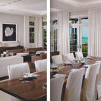 Florida Architecture - Florida Architecture Cover; here the 16' Black Walnut Dining Table is featured in this layout.