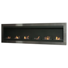 Modern Indoor Fireplaces by Modern Home Luxury