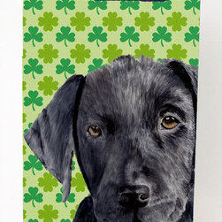 Caroline's Treasures - Labrador Black Day Shamrock Portrait Michelob Ultra Koozies for slim cans - Labrador Black St. Patrick's Day Shamrock Portrait Michelob Ultra Koozies for slim cans SC9284MUK Fits 12 oz. slim cans for Michelob Ultra, Starbucks Refreshers, Heineken Light, Bud Lite Lime 12 oz., Dry Soda, Coors, Resin, Vitaminwater Energy, and Perrier Cans. Great collapsible koozie. Great to keep track of your beverage and add a bit of flair to a gathering. These are in full color artwork and washable in the washing machine. Design will not come off.