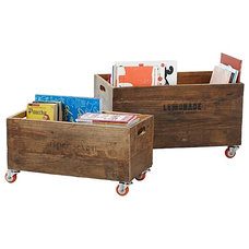 Contemporary Storage Bins And Boxes by Serena & Lily