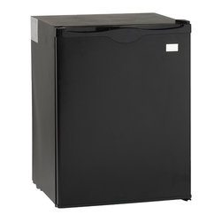 Avanti - Avanti 2.2-cubic foot Compact Refrigerator - Add a refrigerator to your bar,small apartment or office space with this compact 2.2 cubic foot refrigerator. This highly efficient black fridge is designed to provide full capacity work with a low environmental impact.