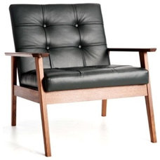 modern armchairs by bark furniture