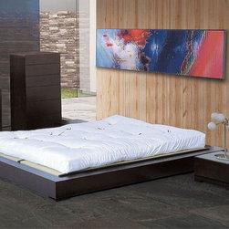 Exclusive Wood Designer Bedroom Sets - Zen minimalistic modern design solid wood bedroom set. Minimalistic Modern Designer Bedroom Set.