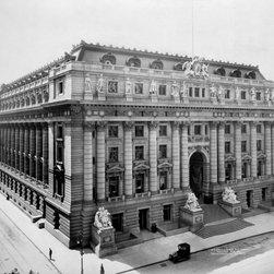 U. S. Custom House, N.Y. Print - U. S. Custom House, N.Y. Photographed by Irving Underhill in 1908.