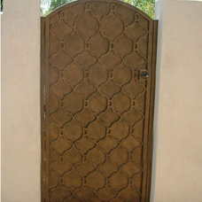 Modern Home Fencing And Gates by Colletti Design Iron Doors