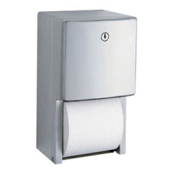 BOBRICK - TOILET TISSUE DISPENSER MULTI ROLL| S/S| CONTURA - CAT: Paper & Dispensers Toilet Tissue & Dispensers Standard Roll Dispensers