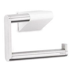 Blomus - Sento Wall-Mounted Toilet Paper Holder - Matte - Form and function, hand in hand again. This modernist take on the classic toilet paper holder is well designed. And, needless to say, it's also attractive.  But in addition, it adds one other perk: It allows you to perfect the one-handed roll replacement slide. A small but still a very satisfying accomplishment.