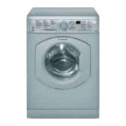 """Ariston - ARWF149SNA 24"""" 1.82 cu. ft. Capacity Front-Load Washer With Super Wash  Delay Ti - Increase your worktop and build your Ariston Platinum Series laundry undercounter If ventilation is an issue look to utilizing the largest condenser dryer on the market Now you can dry your clothers anywhere without the need of external ventingduct w..."""