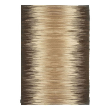 Flash rug in Chocolat - Make your home the star with Flash, an updated version on the Ikat pattern.  Giving a Chic Ombre vibe, these fashionable colors make a bold statement in many areas of a home.