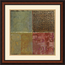Amanti Art - Pattern Luck III Framed Print by Jennifer Hollack - Energize your wall with this mix of pattern and color by artist Jennifer Hollack.
