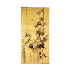 Oriental Unlimted - Black Bamboo Design Blinds (36 in. W x 72 in. - Choose Size: 36 in. W x 72 in. HBoth elegant and stylish, this matchstick bamboo roll up blind will be a fashionable selection for a window treatment. Available in your choice of sizes, the blind is finished in beige and highlighted by a graceful black bamboo branch motif for added visual interest. Perfect decoration for your window. Easy to hang and operate. Made of bamboo matchsticks. No assembly required. 24 in. W x 72 in. H. 36 in. W x 72 in. H. 48 in. W x 72 in. H. 60 in. W x 72 in. H. 72 in. W x 72 in. H