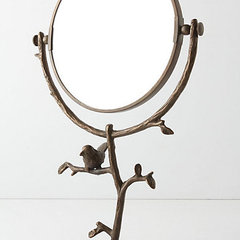 contemporary makeup mirrors by Anthropologie