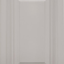 """Roosevelt Dove Gray 15x23 1/4 Wall Skin - The Roosevelt Dove Gray the look to any kitchen with its exceptional and sleek design. These cabinets have a stunning painted black finish. The Roosevelt Dove Gray cabinets feature solid wood and plywood construction. If you're looking for a clean and elegant look then these are the perfect cabinets for you! Width 23.25"""" Height 15"""" Depth .25"""".  15 x 23 1/4 high wall skin. Used for 24"""" deep wall cabinets."""