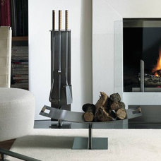 Modern Fireplace Accessories by Surrounding - Modern Lighting & Furniture