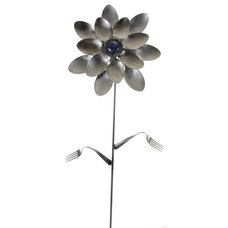 Contemporary Garden Sculptures by Forked Up Art, LLC