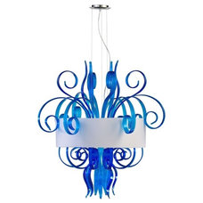 Eclectic Pendant Lighting by GoreDean Home