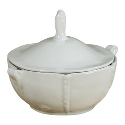 Montes Doggett - Handmade Bowl with Lid - This artfully designed ceramic bowl could fill countless needs in the kitchen. Whether holding candies, sugar cubes or even sea salt, you'll be sure to keep the contents fresh with the matching lid. It's a piece that beautifully blends function and form.