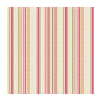 Pink & Green Stripe Linen Fabric - Breezy linen stripe of bright pink, lime green, yellow & ivory.  Traditional with a candy twist.Recover your chair. Upholster a wall. Create a framed piece of art. Sew your own home accent. Whatever your decorating project, Loom's gorgeous, designer fabrics by the yard are up to the challenge!